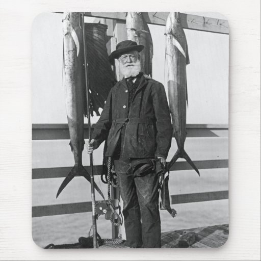 Deep Sea Fisherman, 1912 Mouse Pad