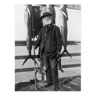 Deep Sea Fisherman, 1912 Postcard