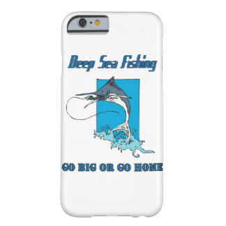 Deep Sea Fishing Barely There iPhone 6 Case