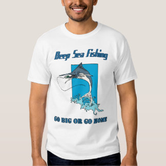 Deep Sea Fishing Men's T-shirt