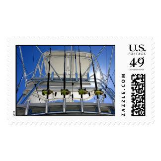 Deep Sea Fishing postage stamp