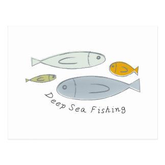 Deep Sea Fishing Postcard