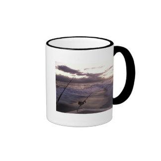 Deep Sea Fishing Ringer Mug