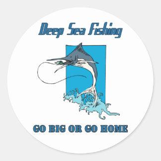 Deep Sea Fishing Sticker