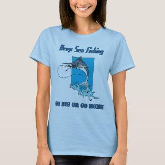 Deep Sea Fishing Women's T-shirt