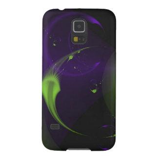 Deep Sea Fractal Galaxy S5 Cases