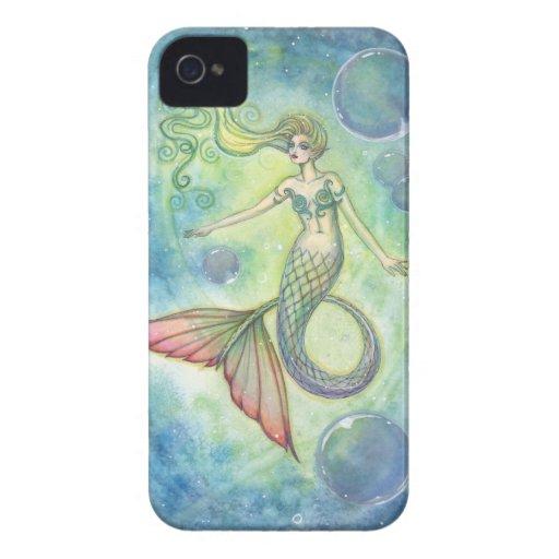 Deep Sea Galaxy Mermaid iPhone Case iPhone 4 Case
