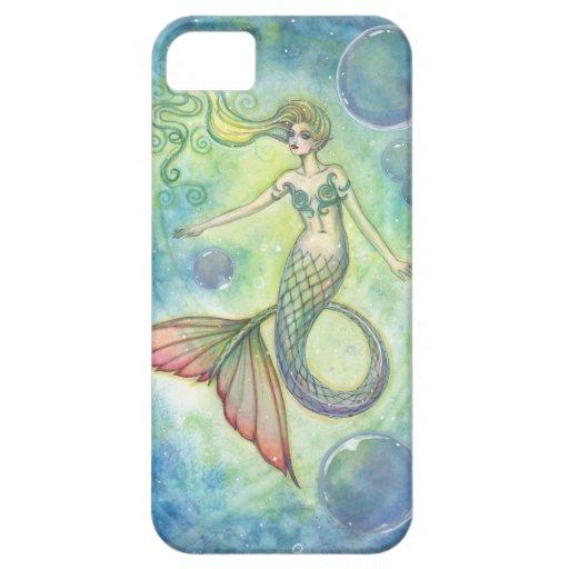 Deep Sea Galaxy Mermaid iPhone Case iPhone 5 Cases