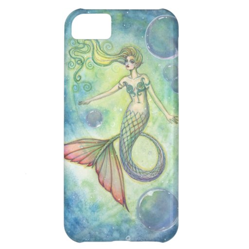 Deep Sea Galaxy Mermaid iPhone Case Case For iPhone 5C