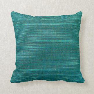 Deep Sea Green Throw Pillows