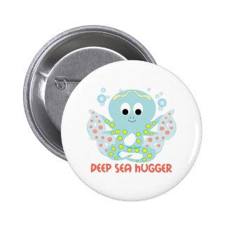 Deep Sea Hugger Pinback Buttons