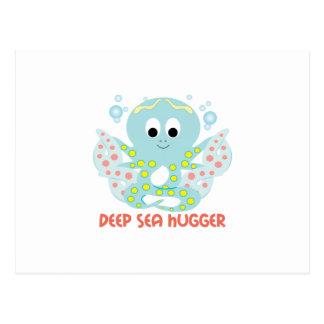 Deep Sea Hugger Postcard