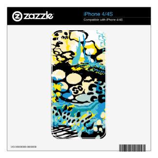 Deep Sea Leopard iPhone 4S Decals