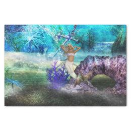 Deep Sea Mermaid Tissue Paper