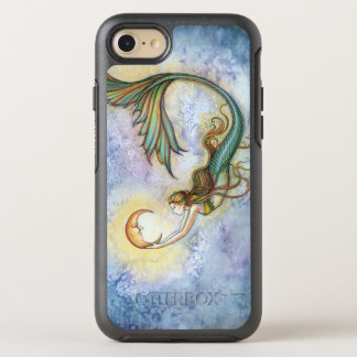 Deep Sea Moon Mermaid Fantasy Art Illustration OtterBox Symmetry iPhone 8/7 Case