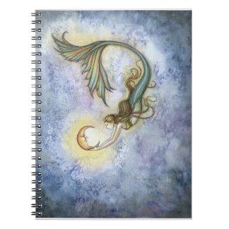 Deep Sea Moon Mermaid Notebook