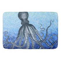 Deep Sea Octopus Bathroom Mat