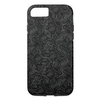 Deep Sea Octopus Black on Black Visual Effect iPhone 7 Case