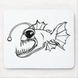 Deep Sea Predator Mouse Pad