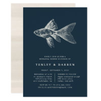 Deep Sea Rehearsal Dinner Invitation