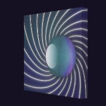 Deep Sea Spirals Canvas Print