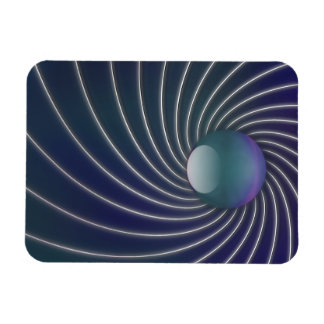 Deep Sea Spirals Flexible Magnet