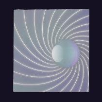 Deep Sea Spirals Notepad