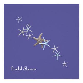 Deep Sea Starfish Bridal Shower Invitations
