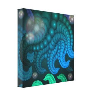 Deep Sea Strange Fractal Art Canvas Prints