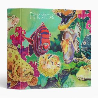 Deep Sea Tropical Fish Photo Album binder