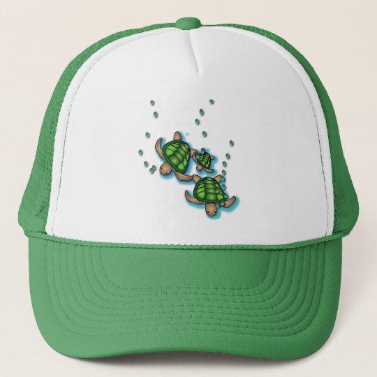 Deep Sea Turtles Hat