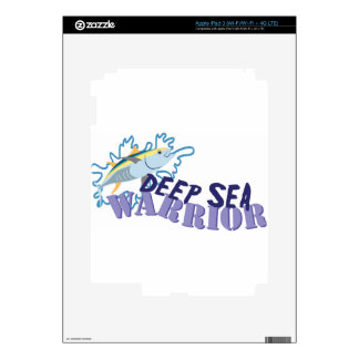 Deep Sea Warrior iPad 3 Decal