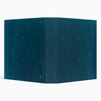 Deep Sea Watercolor - Dark Teal Blue and Aqua Binder