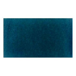 Deep Sea Watercolor - Dark Teal Blue and Aqua Business Card Template
