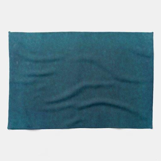 Dark Teal Blue And Aqua Kitchen