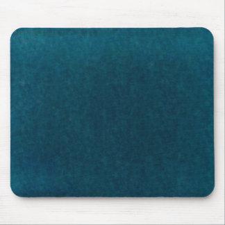 Deep Sea Watercolor - Dark Teal Blue and Aqua Mouse Pad