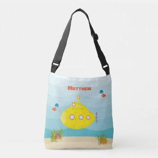 Deep Sea Yellow Submarine Crossbody Bag
