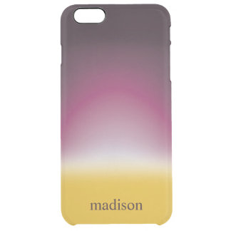 Deep Setting Clear iPhone 6 Plus Case