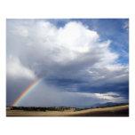 Deep Sky and Rainbow Photo Print