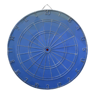 Deep Sky Blue Abstract Low Polygon Background Dartboard