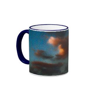 Deep Skye Ringer Coffee Mug