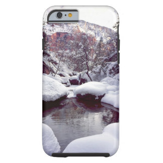 Deep snow at Middle Emerald Pools iPhone 6 Case