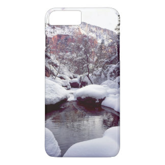 Deep snow at Middle Emerald Pools iPhone 8 Plus/7 Plus Case