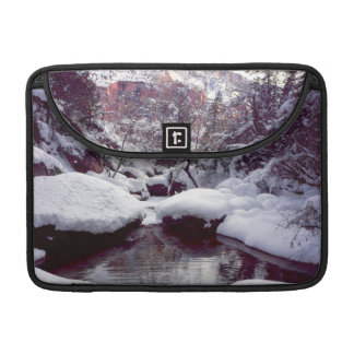 Deep snow at Middle Emerald Pools MacBook Pro Sleeve