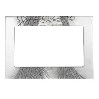 Deep Sorrow Magnetic Picture Frame