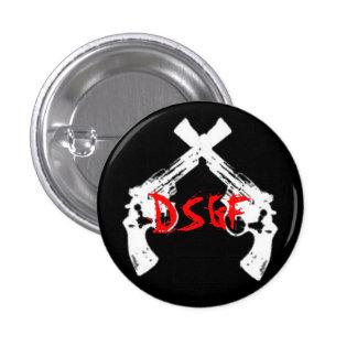 Deep South Gunfight 1 Inch Round Button