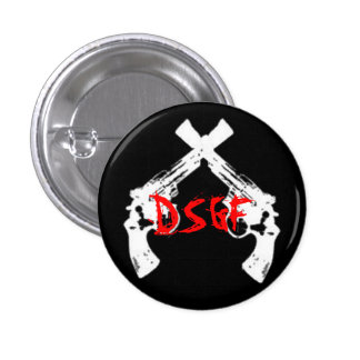 Deep South Gunfight Pinback Button
