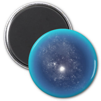 Deep Space 2 Inch Round Magnet