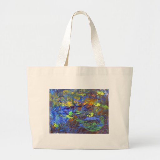 Deep Space Abstract Art Bags