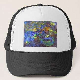 Deep Space Abstract Art Trucker Hat